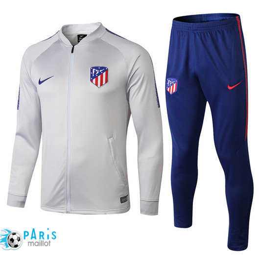 Survêtement Atletico Madrid Veste Blanc 2018/19