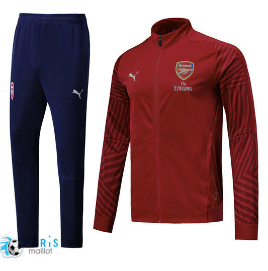 Survêtement Arsenal Veste Rouge 2018/19 Strike Drill