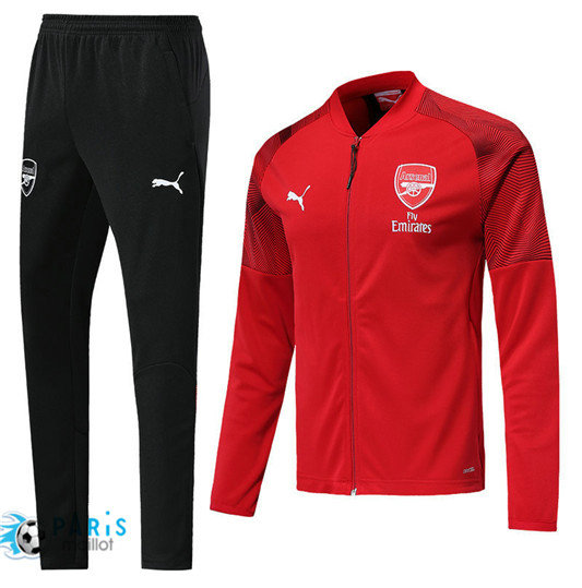 Survêtement Arsenal Veste Rouge 2018/19