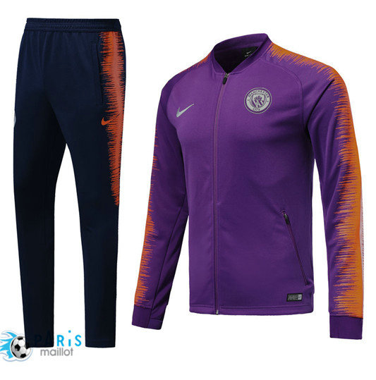 Survêtement Manchester City Veste Violet 2018/19 Strike Drill