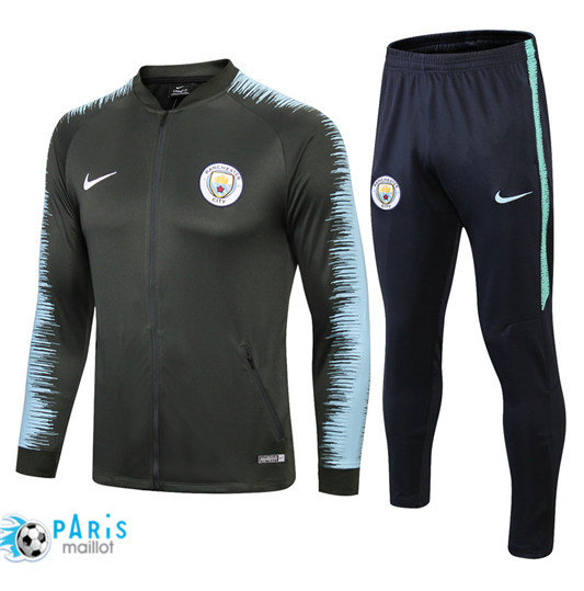 Survêtement Manchester City Veste Bleu 2018/19 Strike Drill