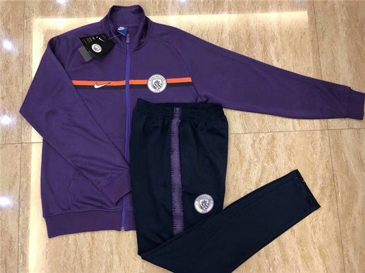 Survêtement Manchester City Veste Purple 2018/19