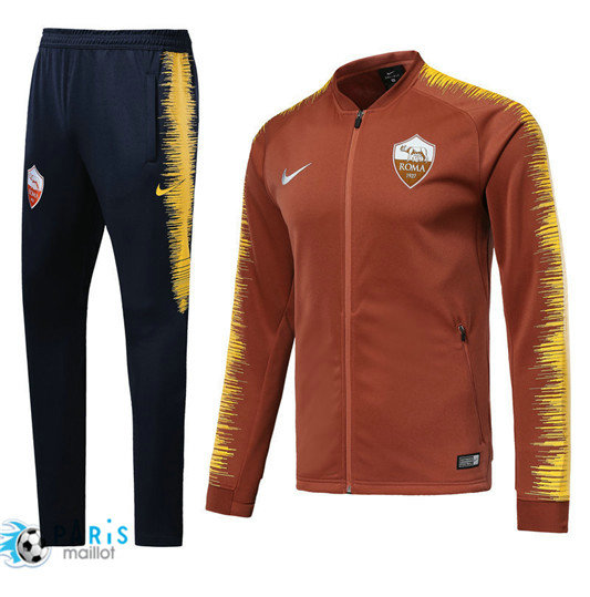 Survêtement AS Roma Veste Orange 2018/19 Strike Drill