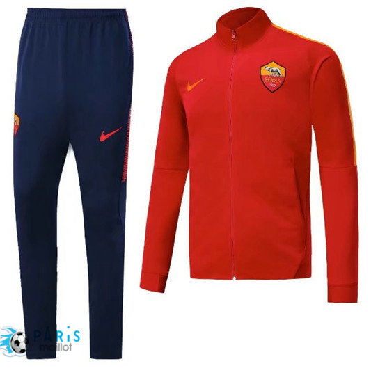 Survêtement AS Roma Veste Rouge 2018/19