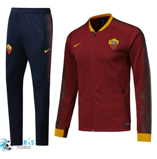 Survêtement AS Roma Veste Rouge 2018/19 Strike Drill