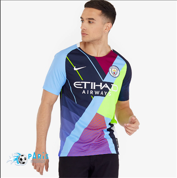 Maillotparis Maillot foot Manchester City Sixth anniversary