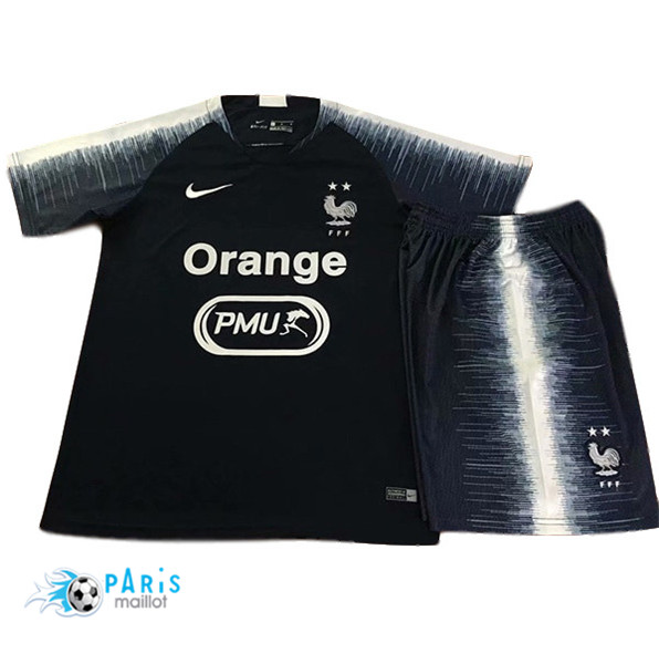 Maillotparis Maillot foot France Enfant set training Bleu Marine 2019/20