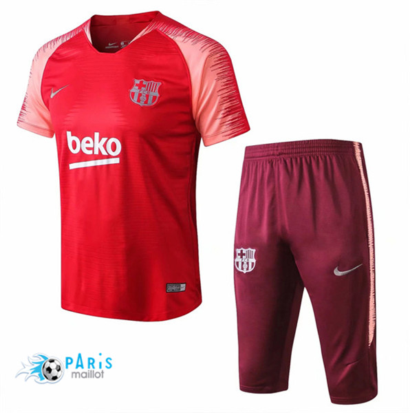 Maillotparis Maillot foot Barcelone Training Rouge Strike Drill 2018/19