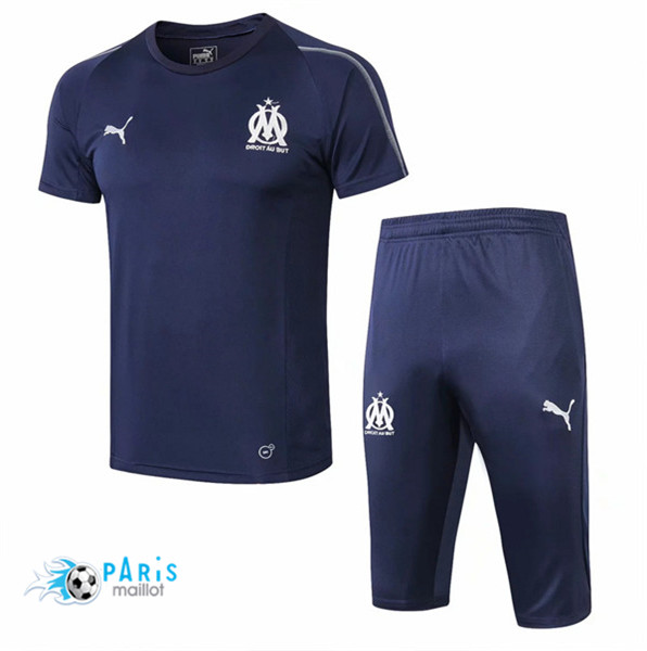 Maillotparis Maillot foot Marseille Training Bleu Marine 2018/19