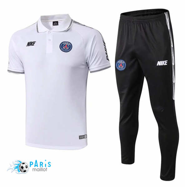 Maillotparis Maillot foot PSG Training Blanc 2019/20
