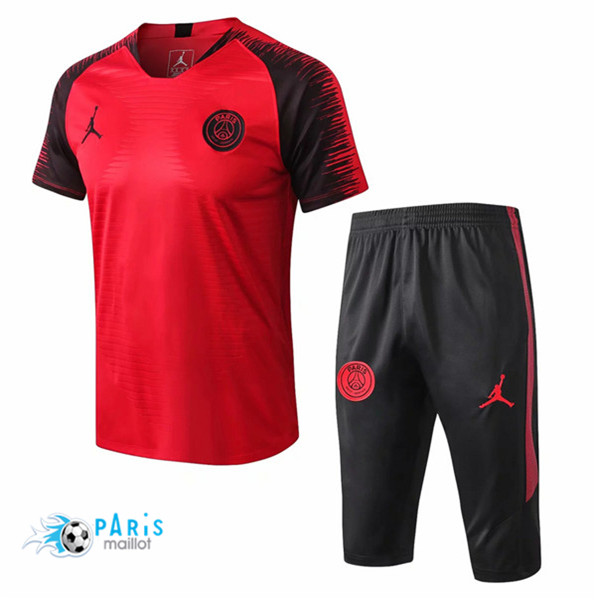 Maillotparis Maillot foot PSG Jordan Training Rouge Strike Drill 2018/19