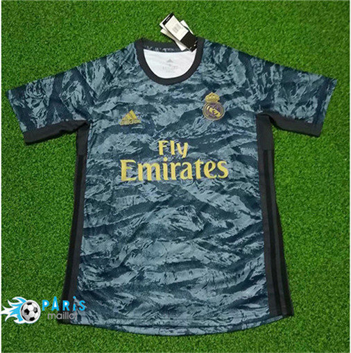 Maillotparis Nouveau Maillot foot Real Madrid Gardien de but 2019/20