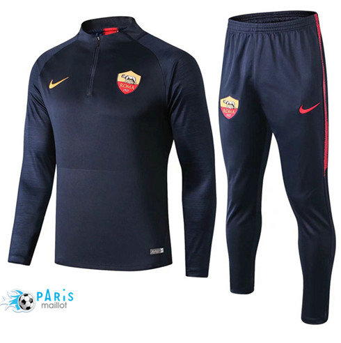 MaillotParis Survêtement AS Roma Bleu Marine 2019/2020