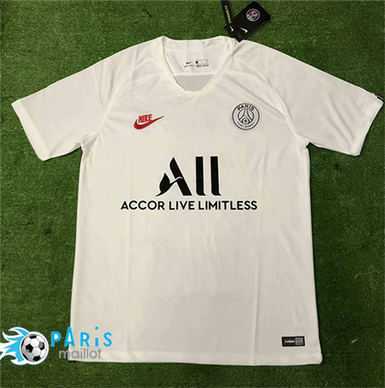 Maillotparis Nouveau Maillot PSG All Training Blanc 2019/20