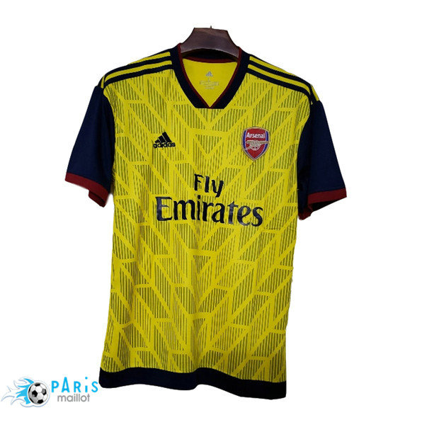 Maillotparis Nouveaux Maillot de foot Arsenal leaked version Jaune 2019/20