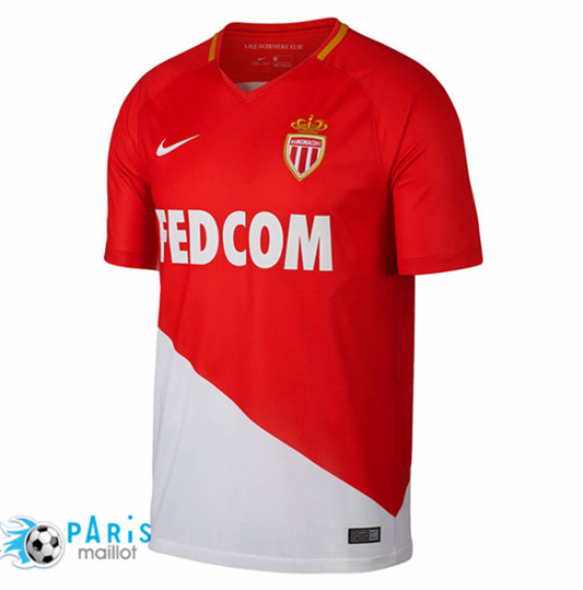 Maillot AS Monaco Domicile 2017/2018