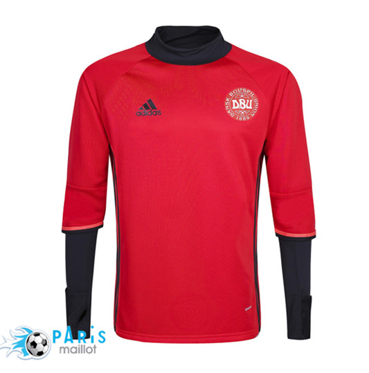 Maillot Training Danemark 2016/2017 Rouge