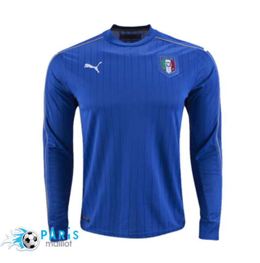 Maillot Italie Domicile Euro 2016 Manches Longues