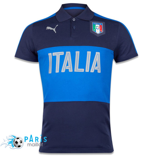 Polo Italie 2016 Bleu Obscure