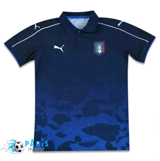 Polo Italie 2017 Bleu Obscure