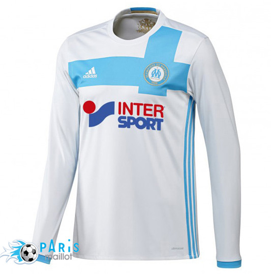 Maillot Olympique Marseille Domicile 2016/2017 Manches Longues