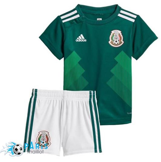 Le Mexique Enfants Personnalisé Football T-shirt euros Coupe du Monde Garçons Filles