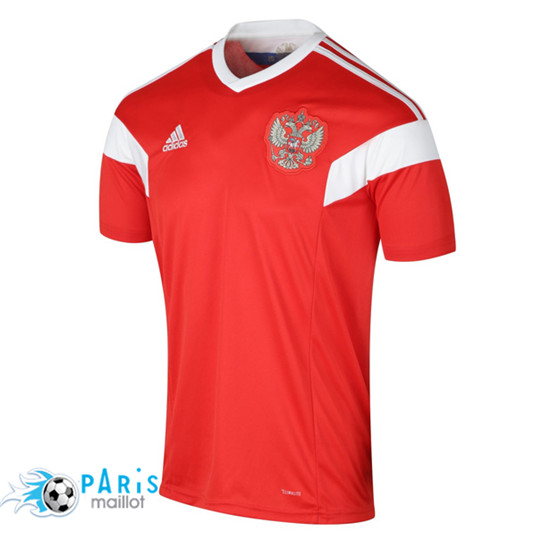 T-Shirt Russie 2018/19 Rouge/Blanc