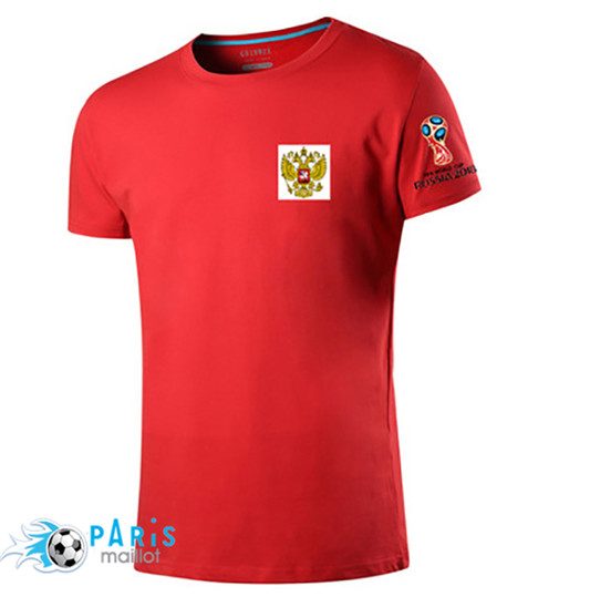 T-Shirt Russie Coupe Du Monde 2018 Rouge
