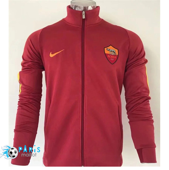 Maillotparis Nouveau Veste AS Roma Rouge 2019/20