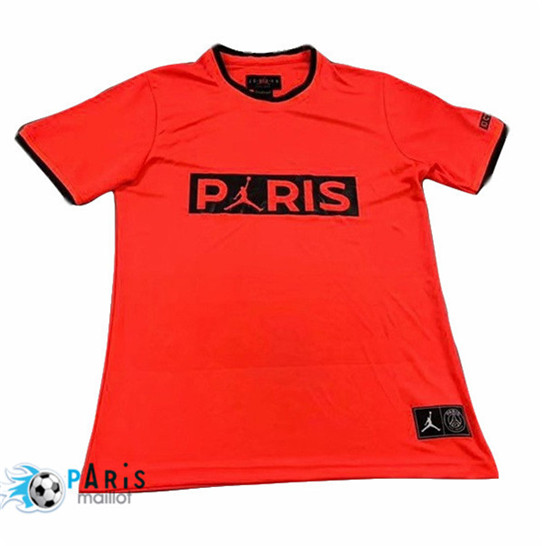 Maillotparis Nouveau Maillot foot PSG training Orange 2019/20