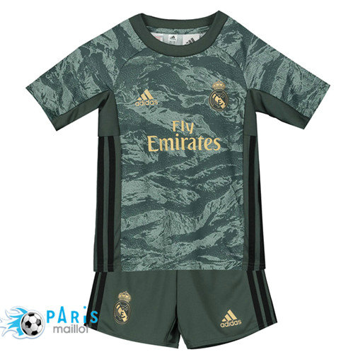Maillotparis Mode‎ Real Madrid Enfant Gris/Vert 2019/20