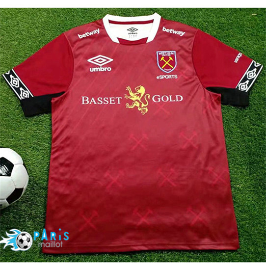 Maillotparis Nouveau Maillot West Ham United version du jeu 2019/20