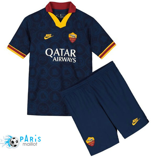 Maillotparis Nouveau Maillot AS Roma Enfant Third 2019/20