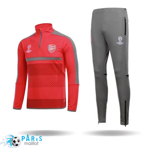 Survêtement Champions league Arsenal Orange/Gris 2016/2017