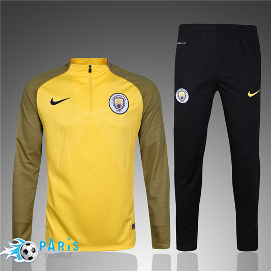 Survêtement Manchester City blond 2017/2018