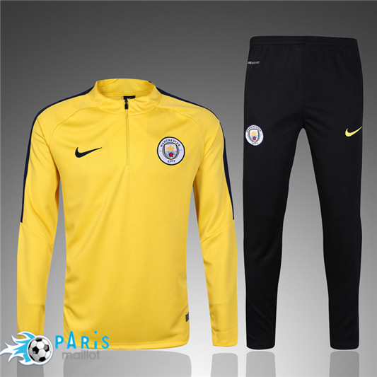Survêtement Manchester City Orange 2017/2018