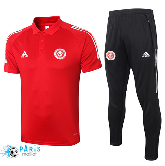 Maillotparis Nouveau Maillot Training POLO SC Internacional + Pantalon Rouge 2020/21